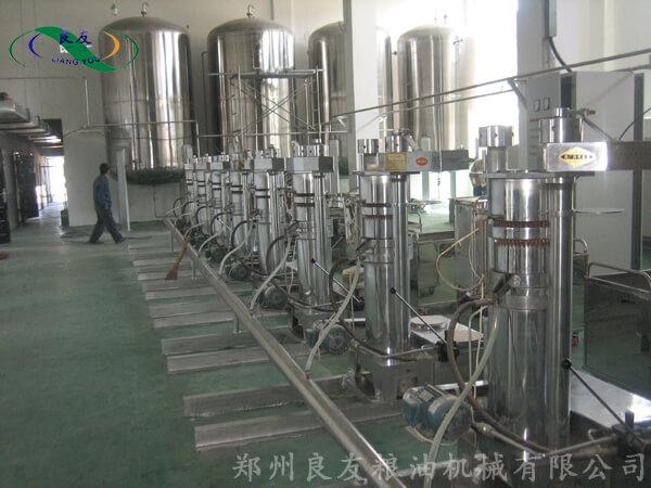 芝麻油榨油工程